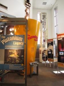 The Plutonium Legacy exhibit