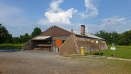 Bunker converted into hunter refuge, Paducah Gaseous Diffusion Plant