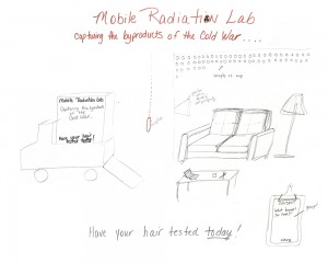 Mobile Radiation Lab concept drawing