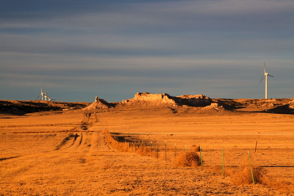 buttes_sunset